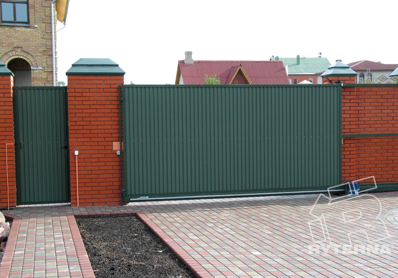 Откатные въездные ворота - Ryterna Украина