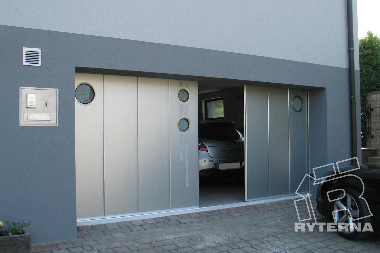 Откатные ворота (модель SSD) - Ryterna Украина