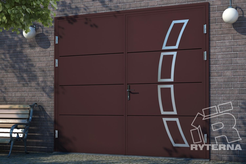Распашные ворота - Ryterna Украина