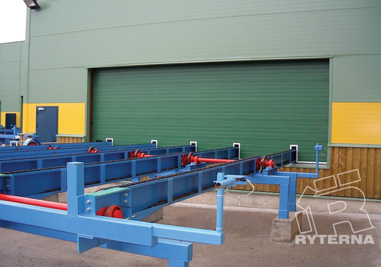 Секционные промышленные ворота - Ryterna Украина