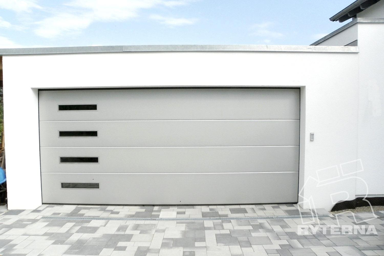 Секционные гаражные ворота - Ryterna Украина