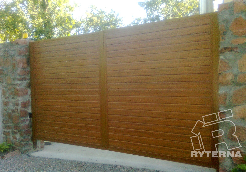 Распашные въездные ворота - Ryterna Украина